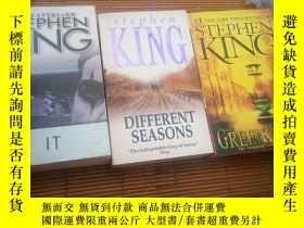 二手書博民逛書店Different罕見seasons & IT & Green mile (三冊合售)Y115089 Step