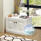 飄窗櫃 實木自由組合櫃子陽台櫃落地櫃儲物櫃地櫃矮收納櫃『優童屋』
