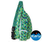 【KAVU】Rope Bag休閒斜肩背包『藍巨嘴鳥』923-565旅遊.旅行.露營.斜背包.後背包.雙肩包.側背包