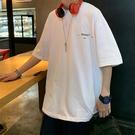 短袖t恤男潮牌ins港風韓版潮流帥氣寬鬆高街嘻哈oversize冰感上衣 設計師