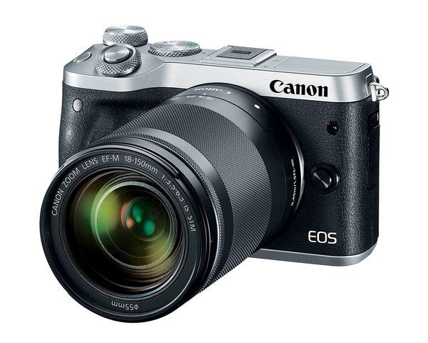 【聖影數位】Canon EOS M6 [18-150mm 單鏡組] 公司貨 微單眼相機 無反