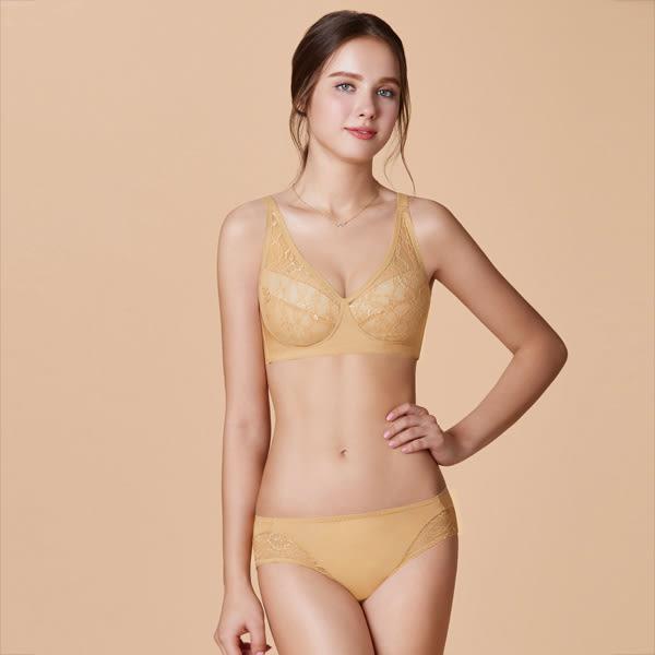 曼黛瑪璉-包覆提托無鋼圈內衣  C-G罩杯(膚金色)(內衣未購滿2件恕無法出貨,退貨需整筆退)
