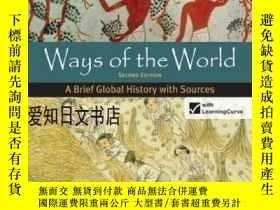 二手書博民逛書店【罕見】Ways Of The World: A Brief G