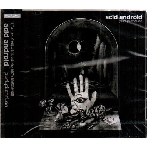 acid android  purification 專輯CD 彩虹樂團鼓手L'Arc~en~Ciel 彩紅 Chaot