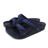 G.P 阿亮代言 拖鞋 雨天 藍色 男鞋 G9030M-20 no034