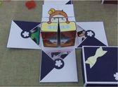 爆炸盒子 魔方翻轉相冊生日禮物女生驚喜盒子作業 綠光森林