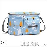 嬰兒車掛包收納袋推車掛袋掛鉤多功能包bb寶寶童車掛籃配件置物袋【創意新品】