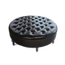 沙發腳凳服裝店沙發皮凳子圓凳沙發凳試衣間...
