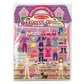 《 美國 Melissa & Doug 》 泡泡貼紙簿 - 時尚裝扮  ╭★ JOYBUS歡樂寶貝