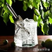 玻璃冰桶冰塊紅酒冰的桶冰酒小號創意【全館免運】