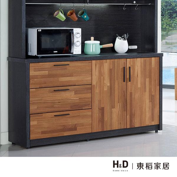 尚恩5尺雙色碗盤餐櫃下座(18JF/411-2)【DD House】