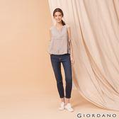 【GIORDANO】女裝縲縈混紡中腰彈力貼身牛仔褲-51 深藍