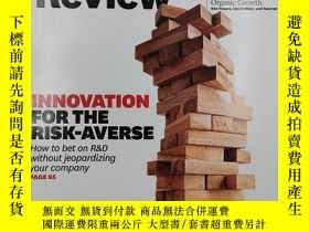 二手書博民逛書店harvard罕見business review innovation for the risk-averse 《