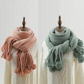 圍巾女冬季韓版百搭針織學生 LQ359『miss洛羽』