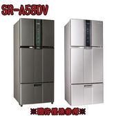 【SAMPO 聲寶】580L變頻三門冰箱SR-A58DV(K2/R6)紫璨銀