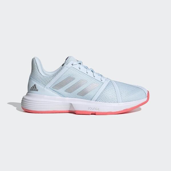 Adidas Others Courtjam Bounce W [FU8146] 女鞋 運動 網球 透氣 愛迪達 水藍