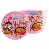 韓國 SAMYANG 三養 火辣雞肉奶油白醬風味鐵板碗麵(105g)【小三美日】團購/泡麵