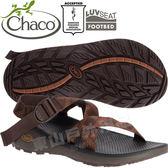 Chaco ZLM01_HD02爪哇咖啡 男越野紓壓涼鞋-Z/Cloud標準款 綁帶涼鞋 東山戶外