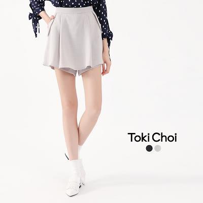 東京著衣-接片壓褶口袋短褲-S.M.L(6019834)