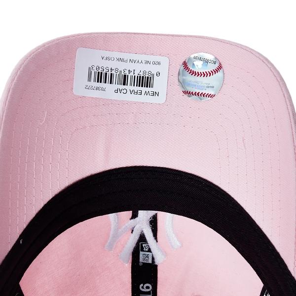NEW ERA 9TWENTY 920 logo 洋基 粉紅 棒球帽