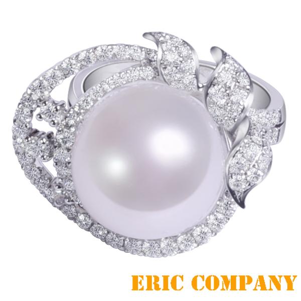 Eileen Me Kyra -凱拉 天然頂級珍珠戒指 13mm