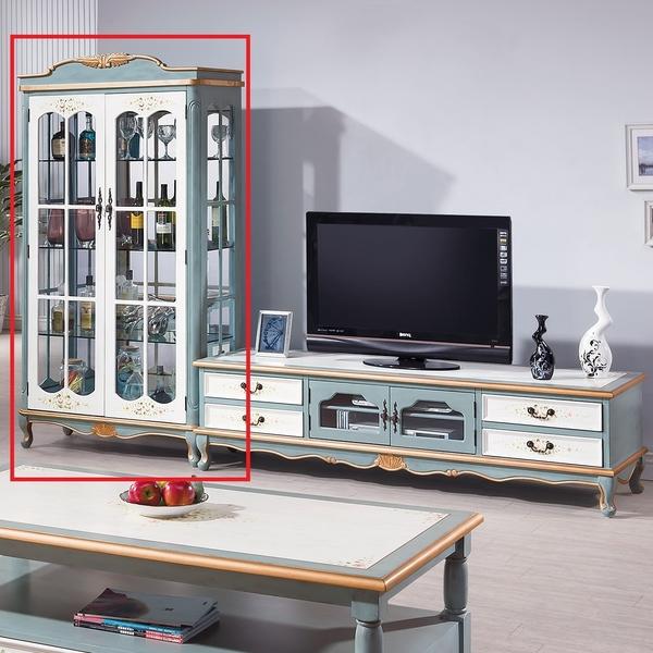 OB004-維多莉亞歐式3.3尺雙門展示櫃(19HY2/B330-02)【DD House】