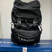 KANGOL 黑色大容量子母後背包 6125174120