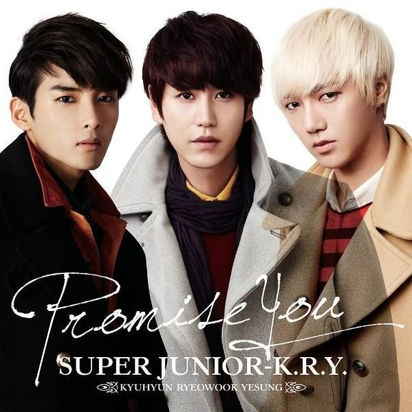 SUPER JUNIOR K.R.Y. Promise You CD附DVD (購潮8)