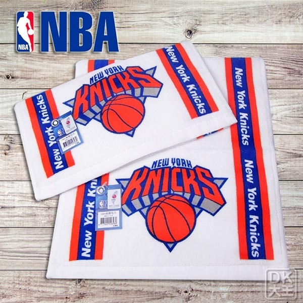 NBA 紐約尼克隊 林書豪17號 印花純棉毛巾 運動毛巾【DK大王】