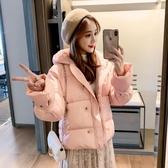 羽絨服 棉衣女短款冬新款潮韓版寬鬆時尚女裝短款羽絨棉服女棉襖外套
