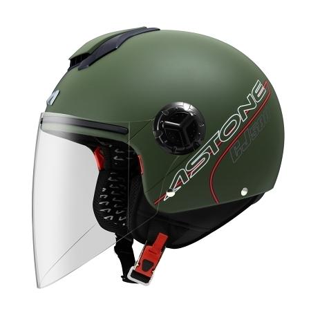 ASTONE安全帽,CJ500,素/消光綠