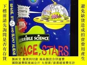 二手書博民逛書店Horrible罕見science--space,stars a