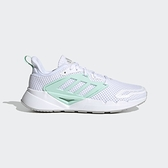 Adidas VENTICE 2.0 女款白綠色運動慢跑鞋-NO.FY5942