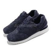 【四折特賣】New Balance 休閒鞋 NB 745 深藍 白 女鞋 麂皮 復古慢跑鞋 【ACS】 WL745NVB