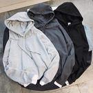加厚衛衣男韓版運動學生修身男士假兩件套頭連帽寬鬆上衣服  夢想生活家
