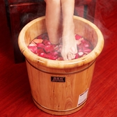 香柏木泡腳木桶家用木質洗腳足浴盆實木高深桶小號泡腳養生220VATF 格蘭小舖