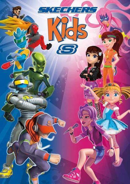 SKECHERS (童) 女童系列 GO Walk 4 - 81118LBBK
