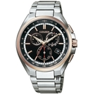 CITIZEN光動能電波錶 萬年曆鈦金屬 手錶 CB5044-62E