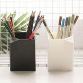 多功能筆筒無印風學生筆筒桌面文具收納盒