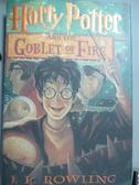 【書寶二手書T8/原文小說_YEX】Harry Potter and the Goblet of Fire_J.K.Ro