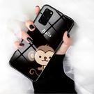 SamSung S20手機套 三星S20防摔保護殼 Galaxy S20+保護套玻璃 三星S20 Ultra手機殼卡通可愛小猴