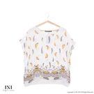 【INI】親膚休閒、涼感輕薄舒適上衣.米...