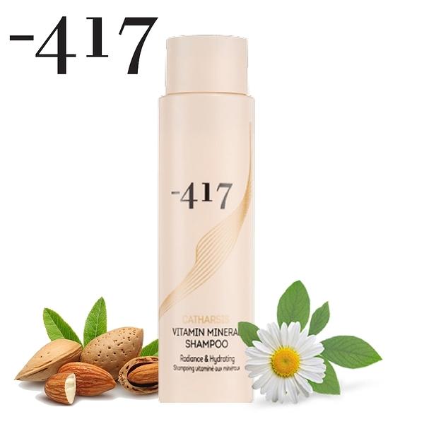 Minus 417 輕感潤澤死海礦物洗髮精_鎖色修護 400ml 即期品