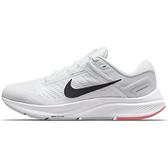 NIKE AIR ZOOM STRUCTURE 24 女鞋 慢跑 緩震 網布 透氣 白【運動世界】DA8570-100