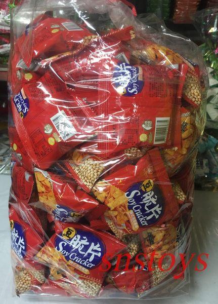 sns 古早味 懷舊零食 九福 餅乾 豆脆片 脆片(韓式泡菜風味)經濟包 1800公克 約±70包
