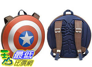 [105美國直購] Marvel Avengers: 美國隊長 盾牌背包 Age of Ultron Captain America Shield Backpack