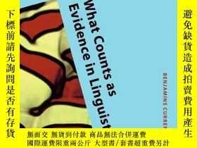 二手書博民逛書店What罕見Counts As Evidence In LinguisticsY364682 Penke, M