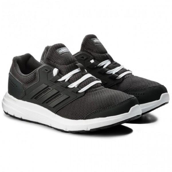 IMPACT Adidas Galaxy 4 黑 白 慢跑鞋 輕量 舒適 百搭 CP8833