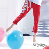 Victoria 後染天絲棉B.F.褲-女-紅