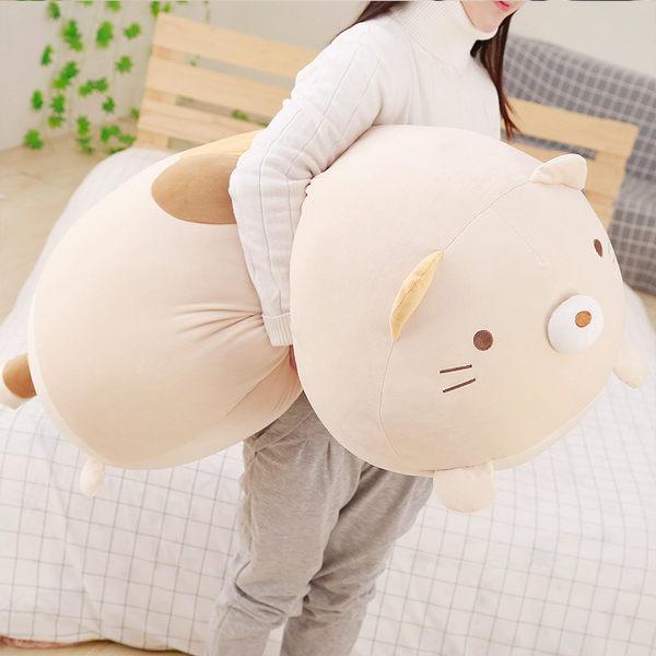 角落生物 長款睡覺抱枕正韓公仔 毛絨玩具布娃娃玩偶 買一送一 少女心生日禮物